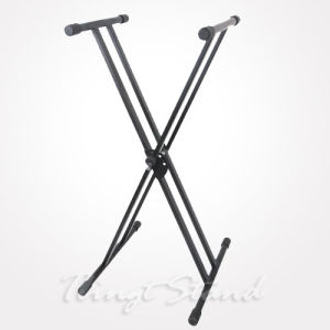 Heavy-Duty Double-X Keyboard Stand (TKB109) pictures & photos