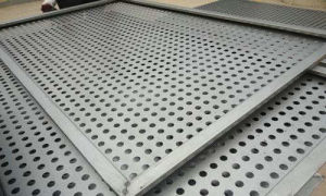 Tec-Sieve Round Hole Perforated Sheet Metal with Bent Edges pictures & photos