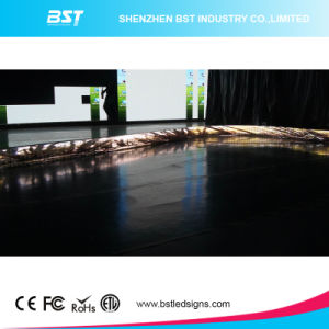 Best Quality P4 Indoor Curved LED Display Screen for Fixed Installation pictures & photos