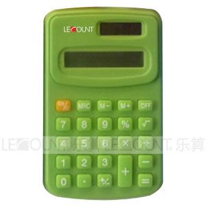 8 Digits Dual Power Handheld Calculator Measures 104*67*11mm (LC321C)