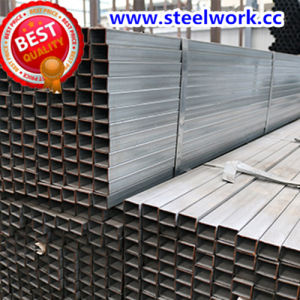 ERW Galvanized/ Annealing Welded Rectangular Steel Pipe (T-03) pictures & photos