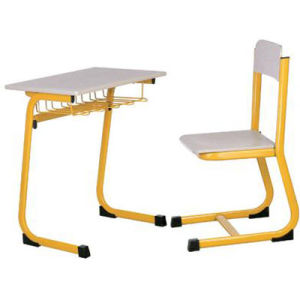 Popular Single Student Desk and Chair/School Furniture in Classroom (FS-3218B) pictures & photos