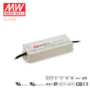 Original Meanwell Clg-60 Series Single Output Waterproof IP67 LED Driver pictures & photos