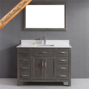 Fed-1952A Modern Solid Wood Bathroom Vanity Bathroom Cabinet Bath Furniture pictures & photos