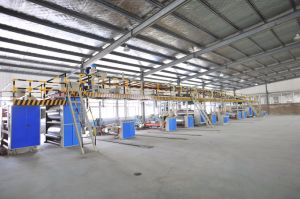 Corrugated Cardboard Production Line Series Duplex Gluing Machine for Sale pictures & photos