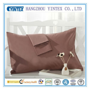 China Supplier Wholesale Custom Hotel Cotton Pillow Case for Hotel Pillow Shams pictures & photos
