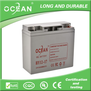 China Factory Hottest Export Lead Acid Battery 12V 17ah Solar Battery for Solar Panel