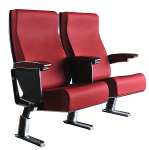 High Quality Aluminium Alloy Auditorium Chair with Writing Board