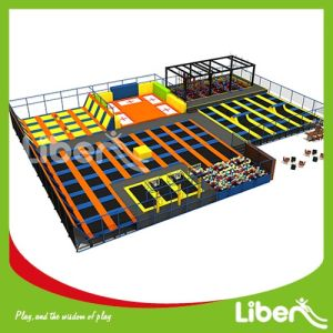 Large Indoor Trampoline Park with Ninja Course pictures & photos