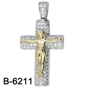 High Quality Fashion Jewelry Jesus Pendant Silver 925 pictures & photos