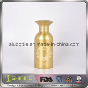 High Quality Aluminum Powder Hair Wax Shaker Bottle