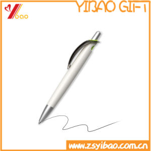 Popular Office Supply Printed Logo Plastic Ballpoint Pen for Promotional Gifts (YB-P-01) pictures & photos