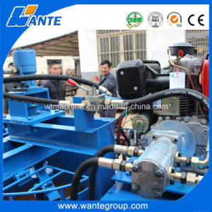 Wante Machinery Popular Semi-Automatic Interlock Brick Making Machine pictures & photos