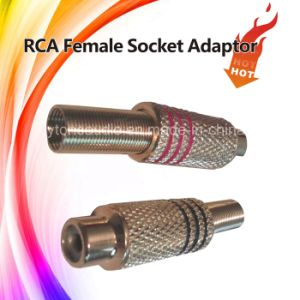 Jack to RCA Female Audio Connector pictures & photos