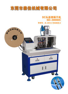 Full Automatic DC Plug Crimping Machine Continous Terminal Press Machine (SD-3000DC) pictures & photos