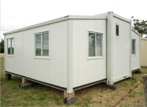 Folding Containerized Modular Housing (Folding and Expanding house)
