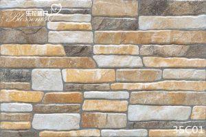 Porcelain Decorative Ceramic Stone Exterior Wall Tile (333X500mm) pictures & photos