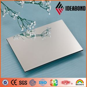 Interior Decoration 1220*2440mm 3mm Light Blue and Silver Mirror ACP pictures & photos