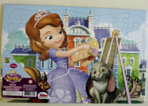 Ad Promotional Paperboard Toying Puzzle pictures & photos