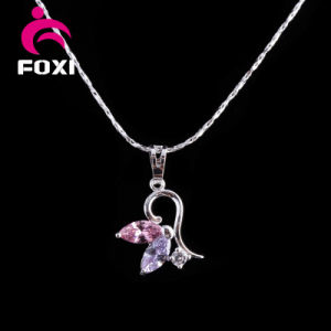 New Fashion Silver Simple Design Gold Pendant for Girls pictures & photos