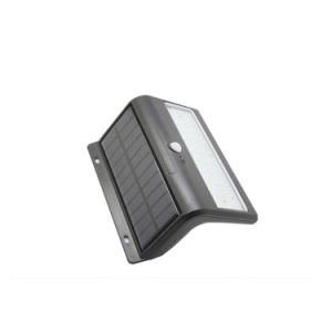 Solar Powered LED PIR Motion Sensor Outdoor Path Wall Light pictures & photos