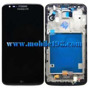 Black LCD Display for LG G2 D802 with Digitizer with Front Housing pictures & photos