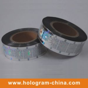 Silver Laser Holographic Hot Stamping Foil pictures & photos