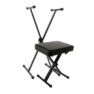 World Tour Keyboard Stand and Deluxe Padded Bench Package