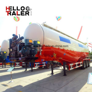 Big Capacity Water Tank 45cbm Multi Axle 50 Ton Cement Bulk Tanker Trailers pictures & photos