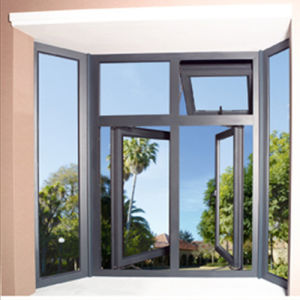 Economical Aluminum Frame Glass Awning Window (TS-1041) pictures & photos