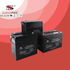 Solar Gel Battery Mlg12-80 (12V80AH) Solar System Battery Gel Battery pictures & photos
