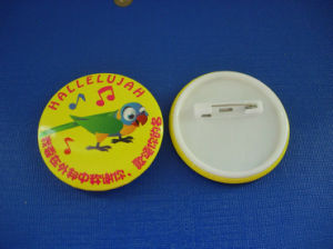 Button Tin Badge, Cute Printing Logo (HY-MKT-0051) pictures & photos