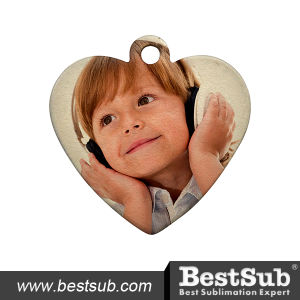 DIY Sublimation Dog Tag (Heart) Dm16 pictures & photos