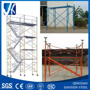 Frame Scaffolding/Wheel Scaffolding for Construction pictures & photos