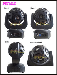 Infinite Rotating Football Head 12X15W LED Beam Light pictures & photos