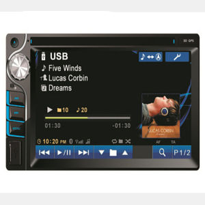 Two DIN Car GPS/DVD Player with 6.2 Inch Touch Screen pictures & photos