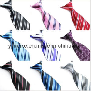 Fashion Polyester Easy Tied Stripe Designs Men Tie (WH20) pictures & photos