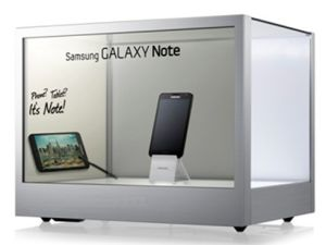 """22"""" Transparent LCD Display for Display and Exhibition Advertising Show pictures & photos"""