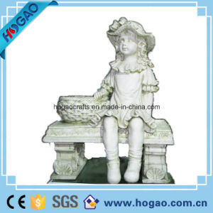 Polyresin Big Figurine for Outdoor Garden (HG070) pictures & photos