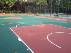 High Elastic Guangdong Supplier Basketball Court Flooring pictures & photos