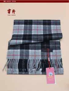 100% Yak Wool/Men′s Yak Cashmere /Striped Yak Cashmere /Warm Yak Wool Scarves/Fabric/Textile pictures & photos