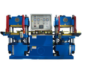 Moulded Rubber Products Making Machine with PLC Control pictures & photos