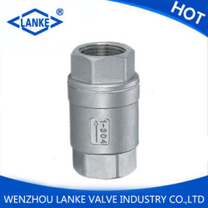 Ss304 NPT Female Threaded Vertical Check Valve