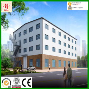 Pre-Fabricated Steel Structure Warehouse Building with Exhition Hall pictures & photos