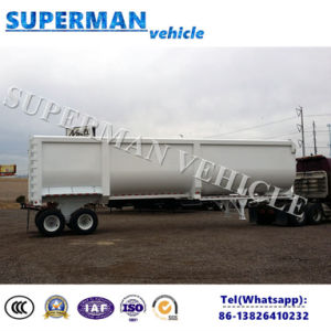 2 Axle U Shape Coal Transport Front Liftting Tipper Dump Trailer/Tipping Semi Trailer pictures & photos
