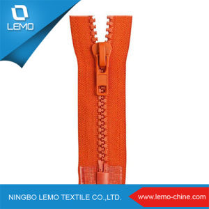 5# Open End Resin Plastic Zippers for Zipper Plastic Bag pictures & photos