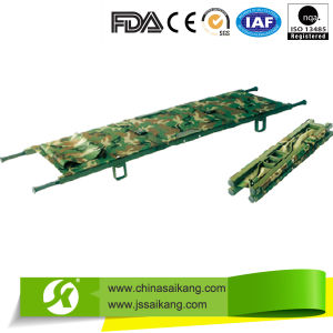 Camouflage Foldable Stretcher with Best Quality pictures & photos