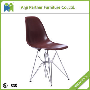 Home Furniture Black PP Seat and Steel Feet Dining Room Chair (Heather) pictures & photos
