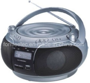 Portable DVD CD MP3 Boombox Player with USB SD FM pictures & photos