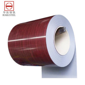 Pattern Color-Coated Galvanized Steel Coil (CUS-1108-H) pictures & photos